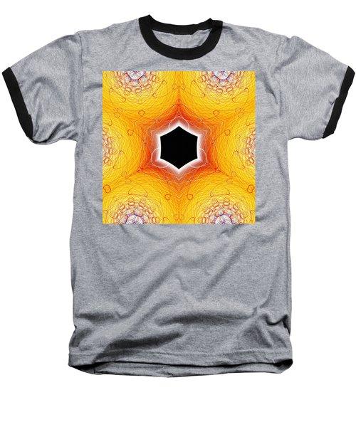 Black Cube Baseball T-Shirt