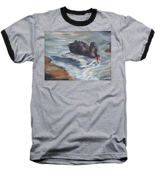 Black Elegance Baseball T-Shirt