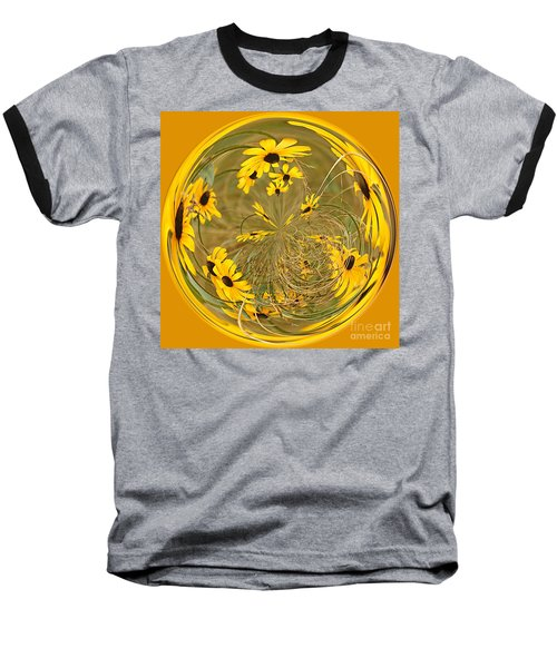 Black Eyed Susans Baseball T-Shirt