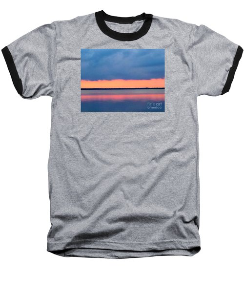 Black Hammock Sunset 2 Baseball T-Shirt