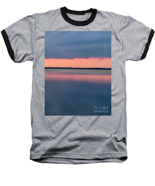 Black Hammock Sunset Baseball T-Shirt