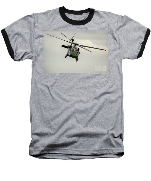 Black Hawk Swoops Baseball T-Shirt