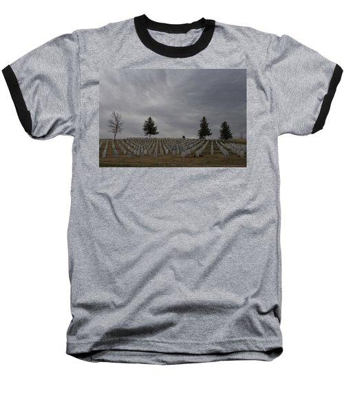Black Hills Cemetery Baseball T-Shirt