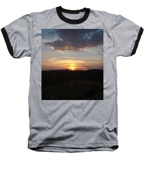 Baseball T-Shirt featuring the photograph Black Hills Sunset IIi by Cathy Anderson