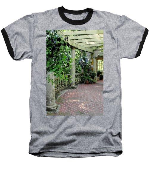 Baseball T-Shirt featuring the photograph Black Petunias by Natalie Ortiz