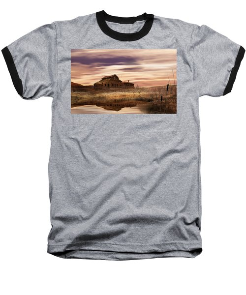 Black Sage Dawn Baseball T-Shirt