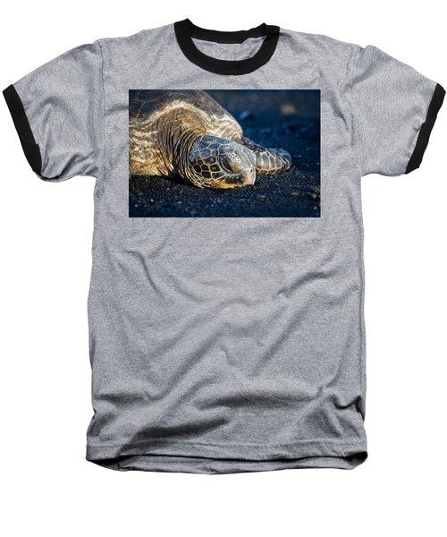 Black Sand Nap Baseball T-Shirt