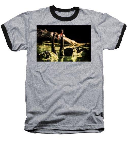 Black Swan Baseball T-Shirt