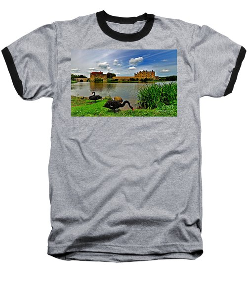 Black Swans At Leeds Castle II Baseball T-Shirt