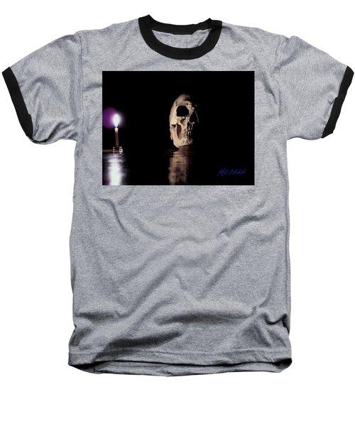 Baseball T-Shirt featuring the photograph Blackbeard's Skull by Mark Blauhoefer