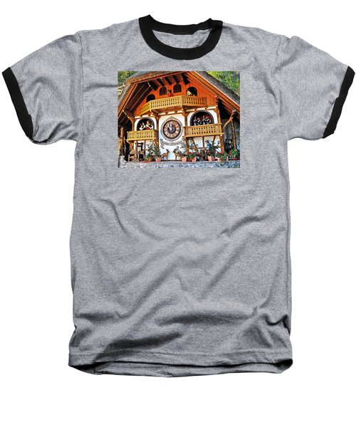 Blackforest Cuckoo Clock Baseball T-Shirt