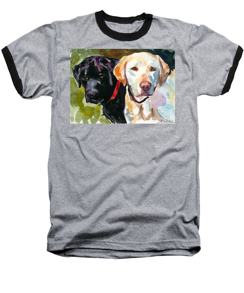 Blacklight Baseball T-Shirt by Molly Poole