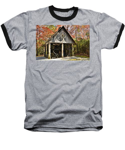 Blacksmith Shop Baseball T-Shirt
