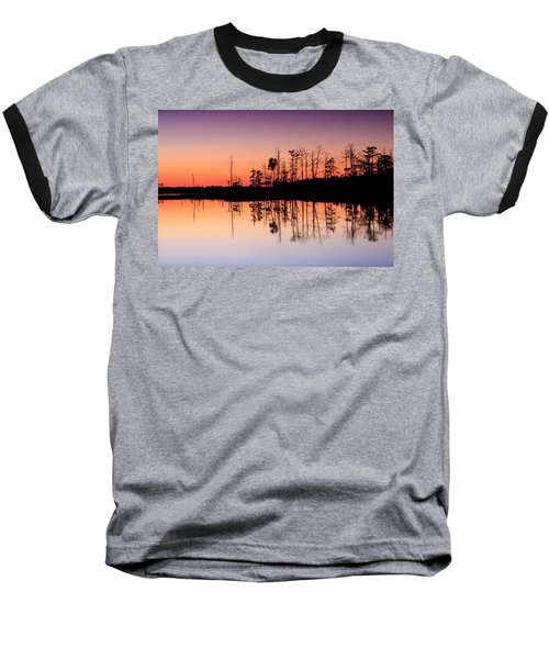 Blackwater Reflections Baseball T-Shirt