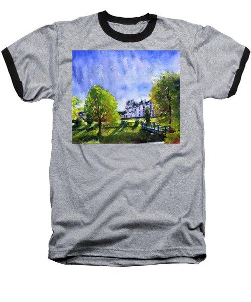 Blair Castle Bridge Scotland Baseball T-Shirt by John D Benson