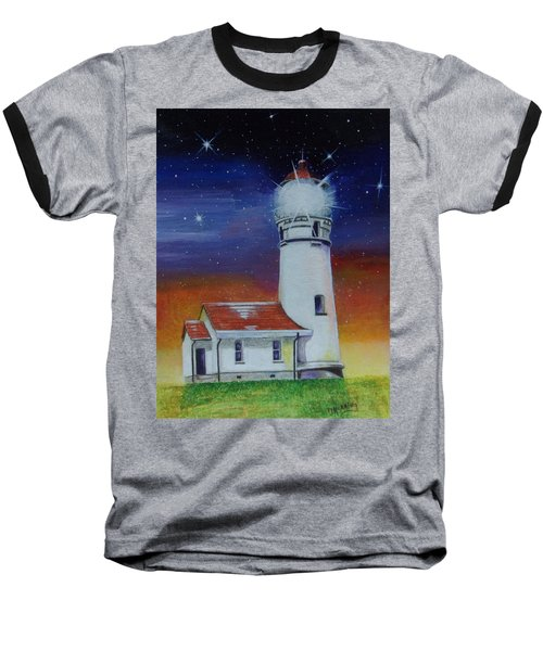 Blanco Lighthouse Baseball T-Shirt