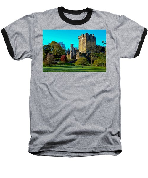 Blarney Castle - Ireland Baseball T-Shirt by Marilyn Burton