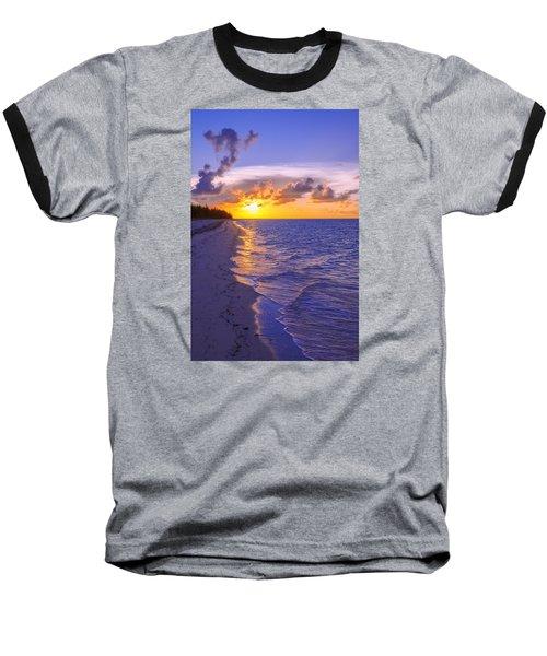 Blaze Baseball T-Shirt by Chad Dutson