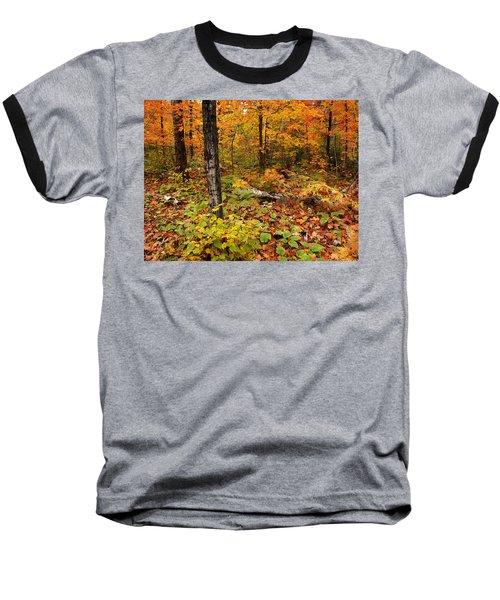 Blazing Forest Baseball T-Shirt