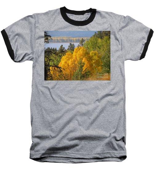 Blazing Yellow Baseball T-Shirt