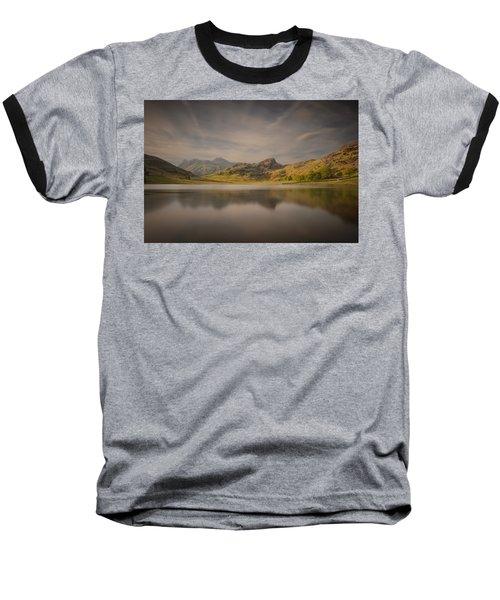Blea Tarn Lake District Baseball T-Shirt