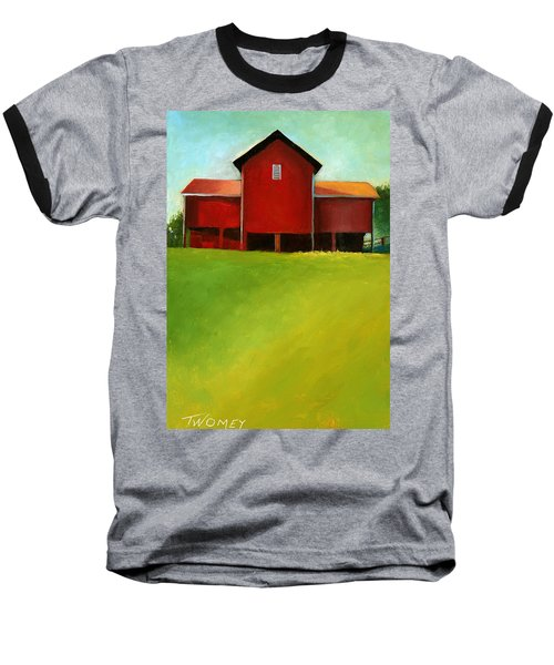 Bleak House Barn 2 Baseball T-Shirt by Catherine Twomey