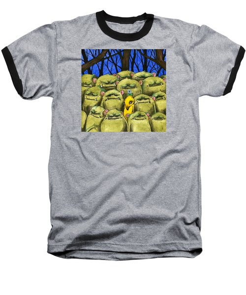 Blend In Baseball T-Shirt