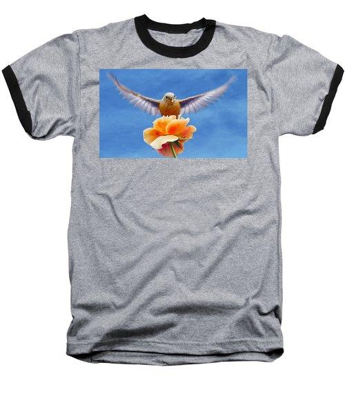 Bless  You Baseball T-Shirt by Jean Noren