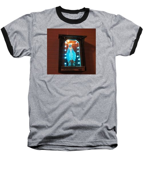 Blessed Mary - New Orleans La - Www.rocknbowl.com Baseball T-Shirt