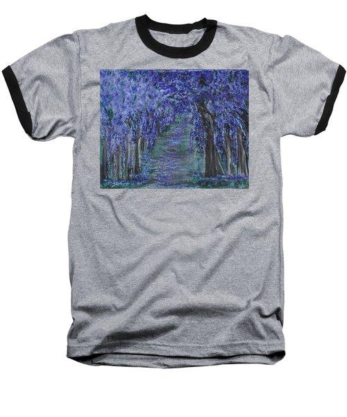 Blissful Walk Through Purple Baseball T-Shirt