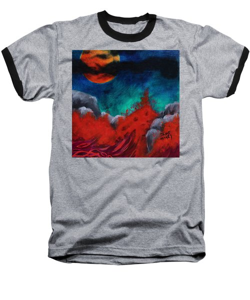 Blood Moon Baseball T-Shirt