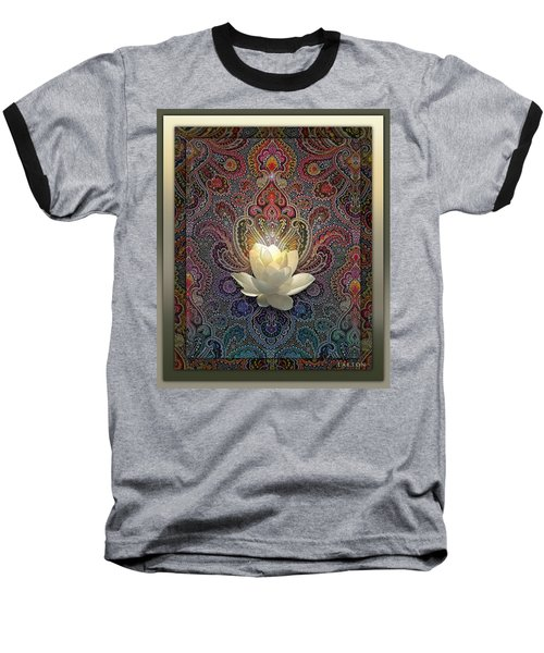 Bloom Baseball T-Shirt by Richard Laeton