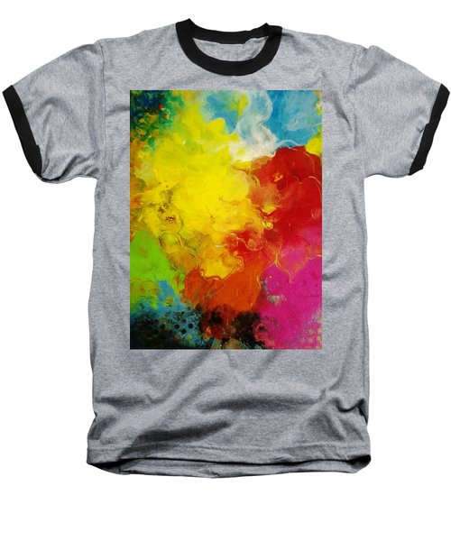 Spring Fling Baseball T-Shirt by Kelly Turner