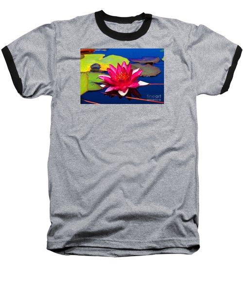 Blooming Lily Baseball T-Shirt
