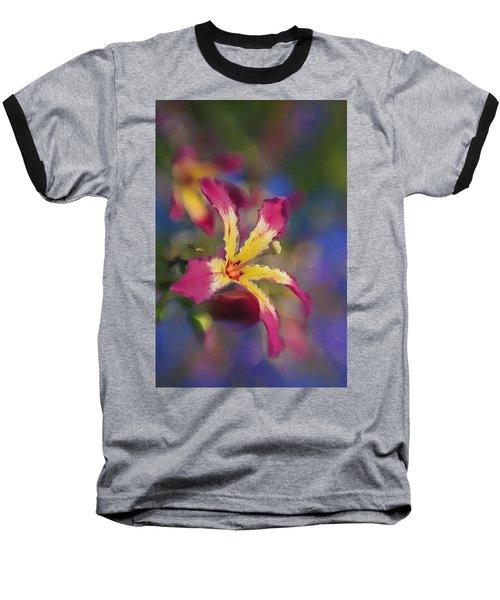 Bloomin Hong Kong Orchid Baseball T-Shirt