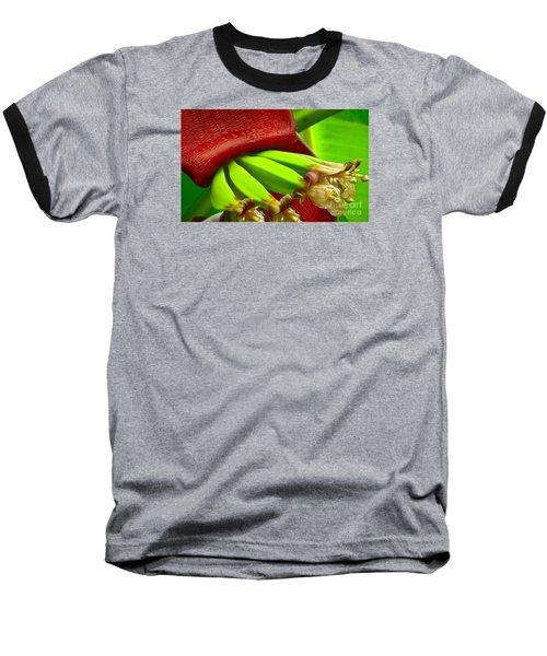 Blooming Bananas Baseball T-Shirt