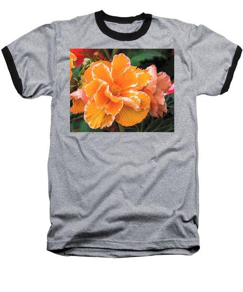 Blooming Begonia Image 1 Baseball T-Shirt