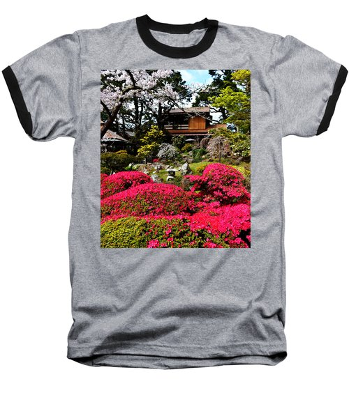 Blooming Gardens 2 Baseball T-Shirt