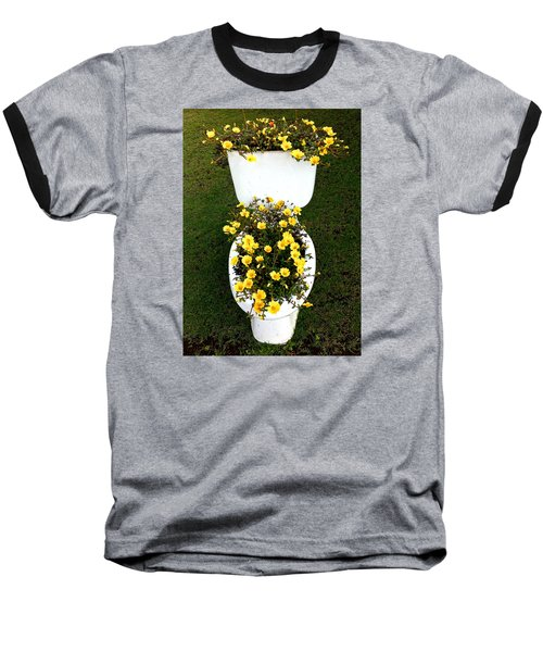 Blooming Loo Baseball T-Shirt