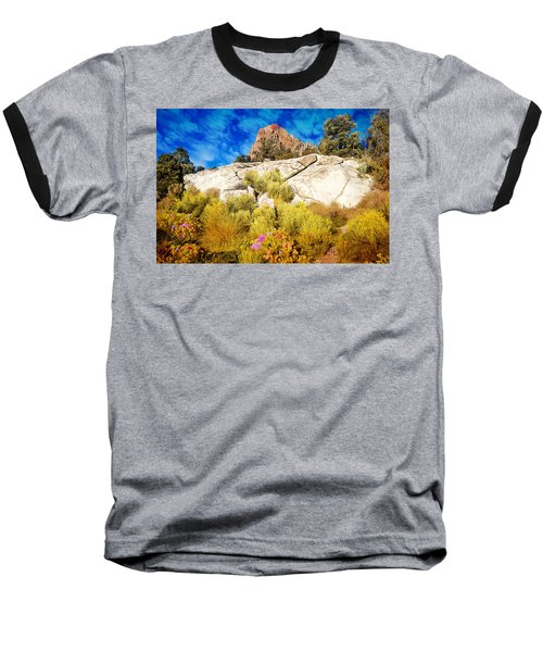 Blooming Nevada Desert Near Ely Baseball T-Shirt