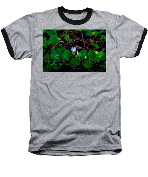 Blooming Vine Baseball T-Shirt