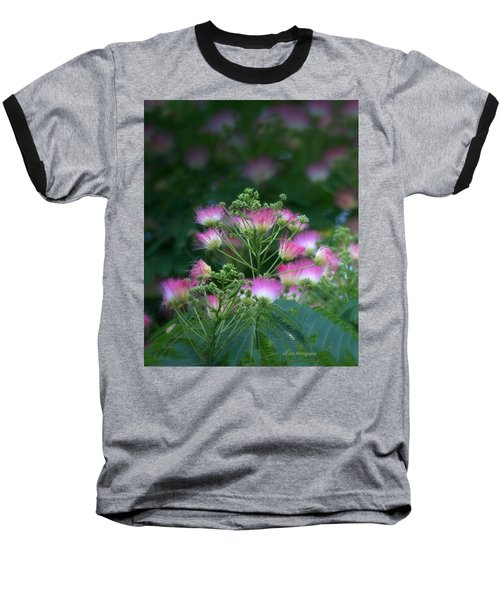Blooms Of The Mimosa Tree Baseball T-Shirt