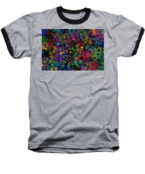 Bloop Nebula Baseball T-Shirt by Mark Blauhoefer