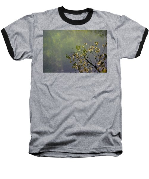 Baseball T-Shirt featuring the photograph Blossom Reflection by Marilyn Wilson