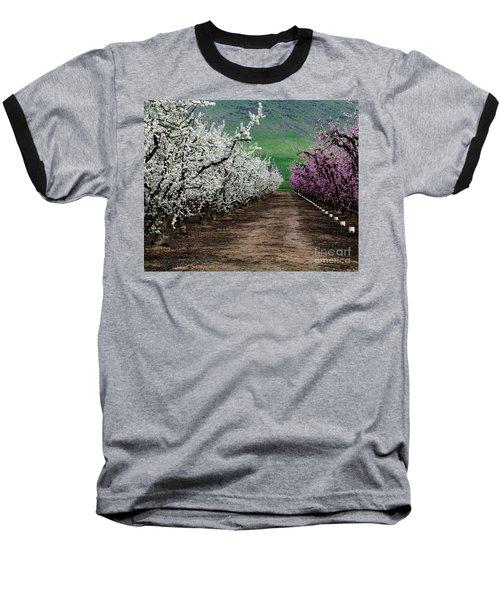 Blossom Standoff Baseball T-Shirt