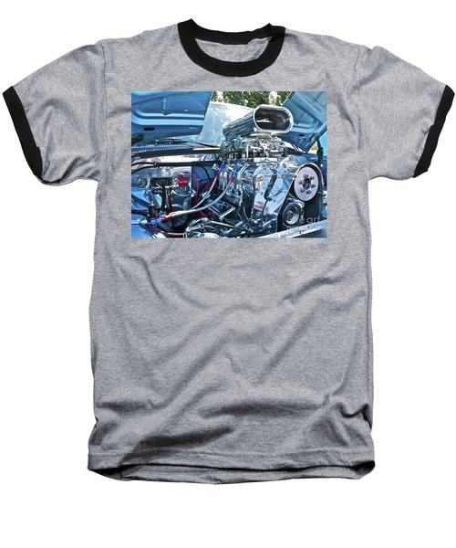 Baseball T-Shirt featuring the photograph Blower Shop by Linda Bianic