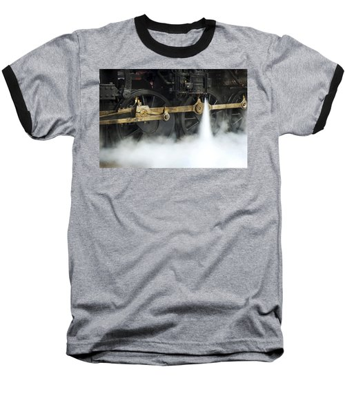 Blowing Of Steam Baseball T-Shirt