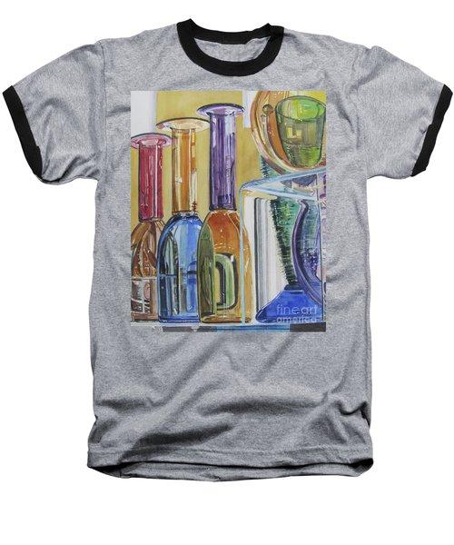 Blown Glass Baseball T-Shirt