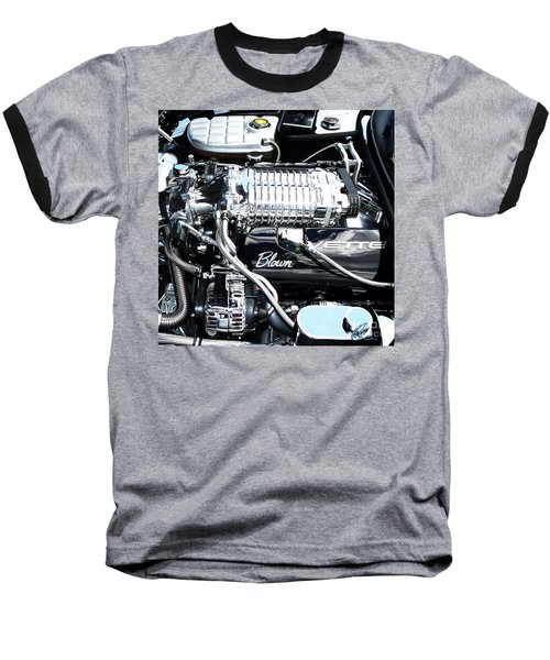Blown 'vette Squared Baseball T-Shirt
