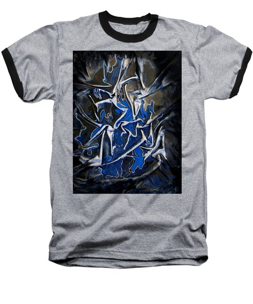 Blue And Silver Dancers Baseball T-Shirt